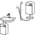 druckloser Untertischspeicher Wasserboilder