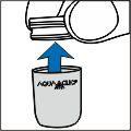 Übergangsteil vom AquaClic abschrauben