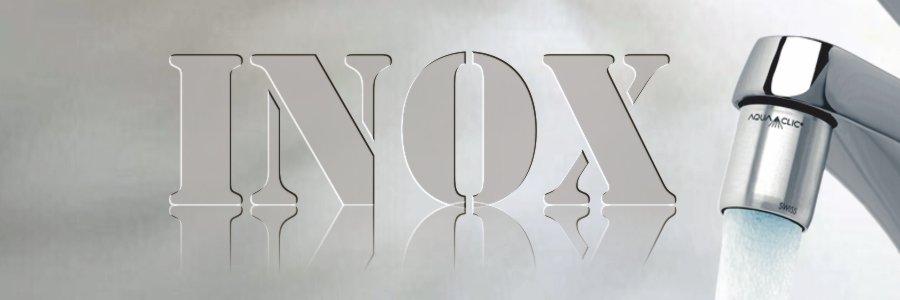 AquaClic zum Wasser sparen inox