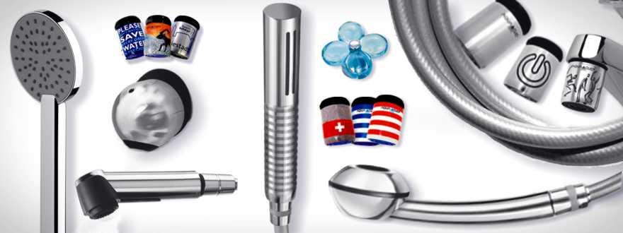 Strahlregler und Duschköpfe zum Energie- und Wassersparen diverse