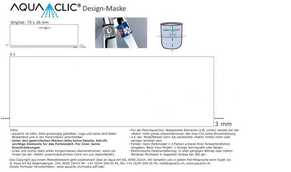 Designmarke, masque pour les competitions de design, design competition mask