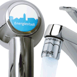 Showerhead and AquaClic with the Energy City design