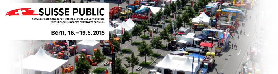 Die Suisse Public, die Schweizer Fachmesse für öffentliche Betriebe und Verwaltungen, kann sich zu Recht die grösste und wichtigste Leistungsschau in diesem Gebiet nennen. Der Grundgedanke, alle zwei Jahre an einem Ort all das zu versammeln, was die Bedürfnisse von Gemeinden, öffentlichen Betrieben, Verbänden und Verwaltungen zu decken vermag, ist auch 2015 derselbe