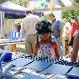 Wasserspar-Stand, watersaving stall, stand pour �conomiser l'eau