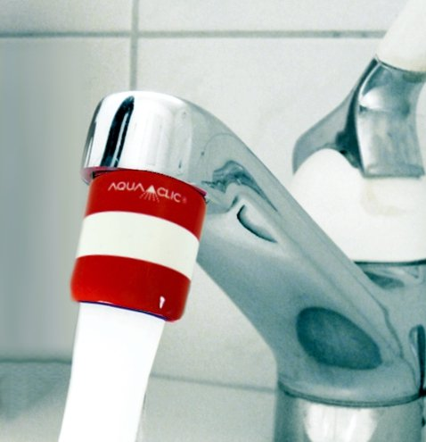 Austria-Water: save water and Energy with AquaClic!