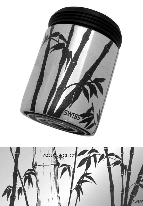 AquaClic Wasserhahn / robinet / faucet Bambus / Zen