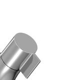 Metallgriff in klaren Linien zur Wasserspar-Armatur EcoFleur