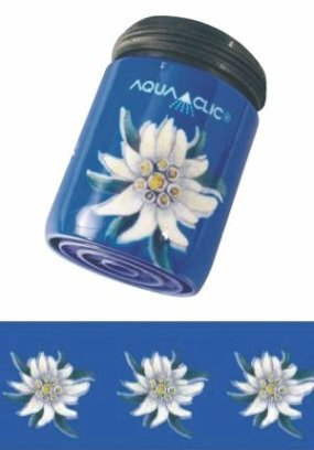 AquaClic Edelweiss bleu