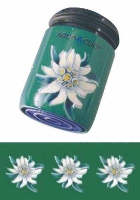 AquaClic Edelweiss green