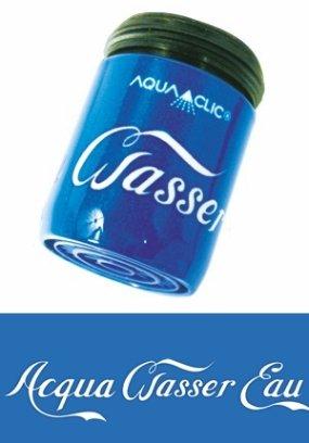 AquaClic Wasser - eau - acqua