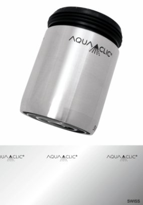 AquaClic Inox Pur