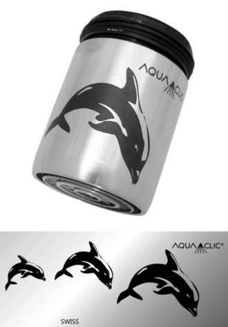 AquaClic Inox Flipper