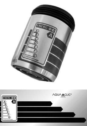 AquaClic Inox Energy Label A
