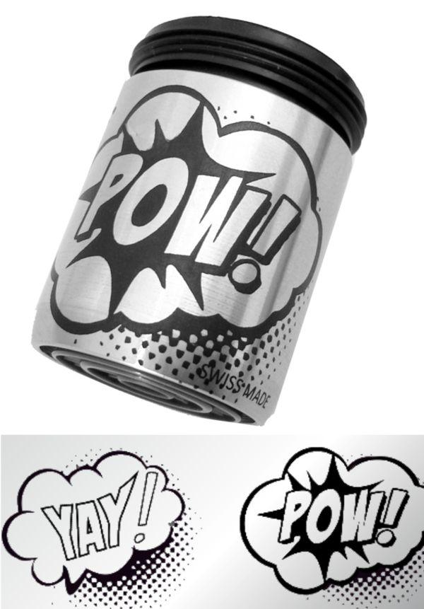 AquaClic Inox Pow!
