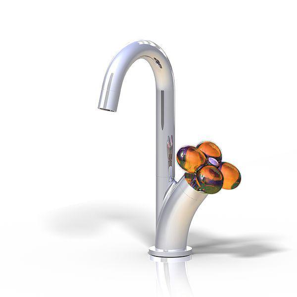 Wasserhahn Ecofleur Orange