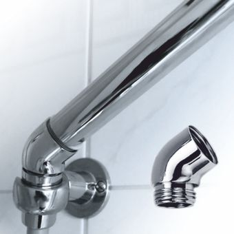 AquaClic Coude – angle chromed