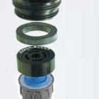 AquaClic internal components, grey