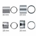 Spezialadapter Designerarmaturen (ohne Schlüssel) 16-20 mm