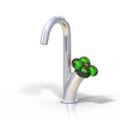 Waschtischmischer Ecofleur verde